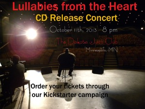 CD Release Concert Announcement