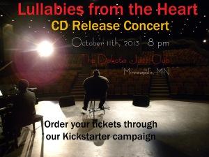 CD Release Concert Announcement